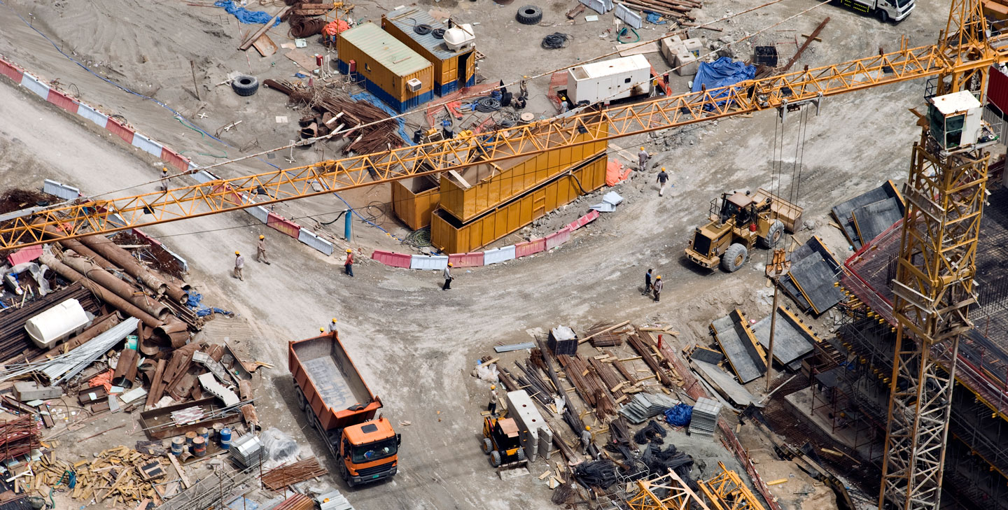 Drones in construction and agriculture forget pizza delivery for Site in construction