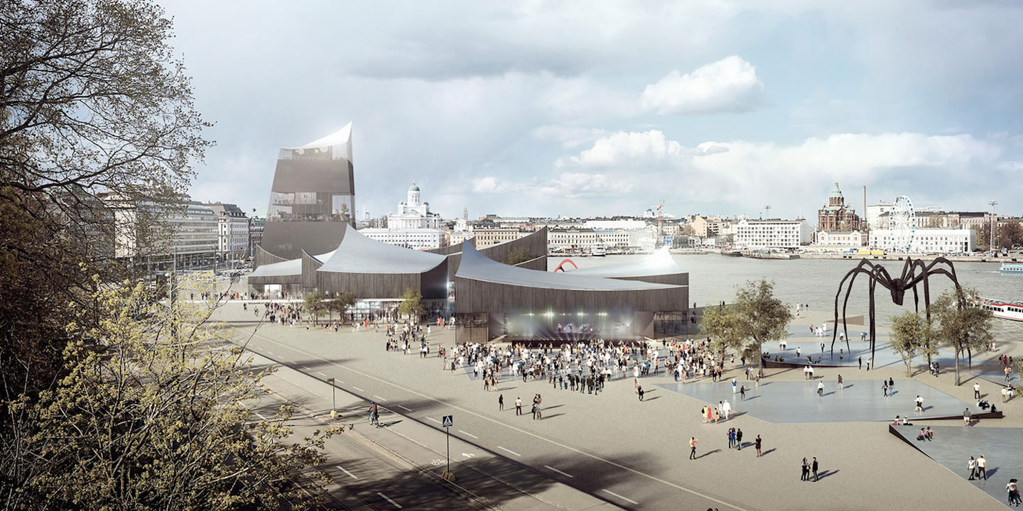 guggenheim helsinki architectural competitions rendering